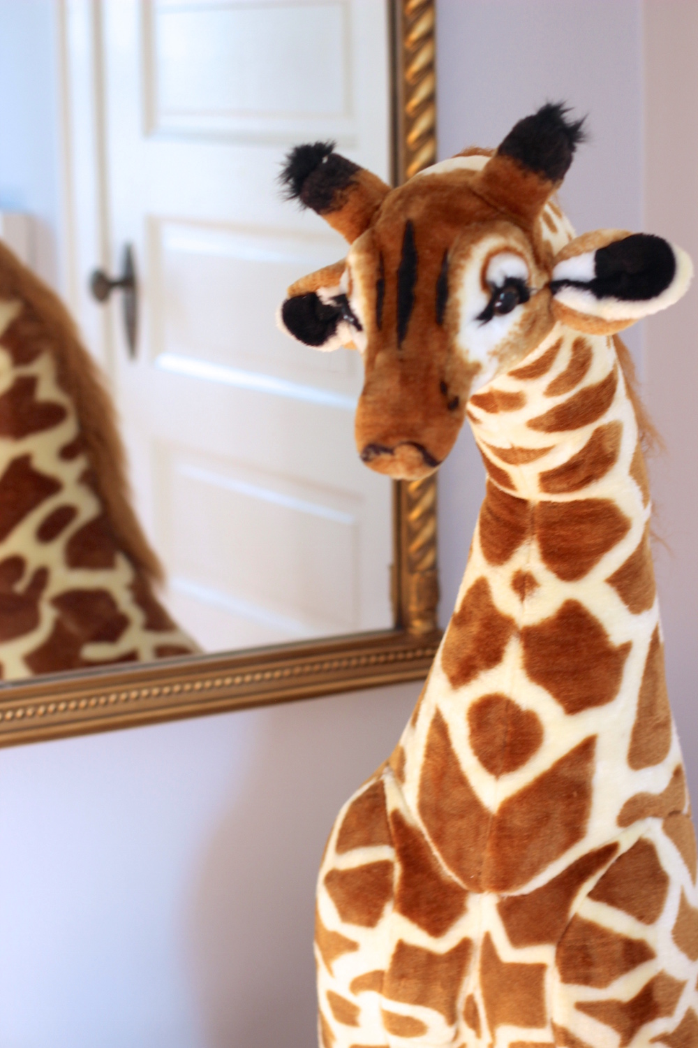 Giraffe Themed Nursery