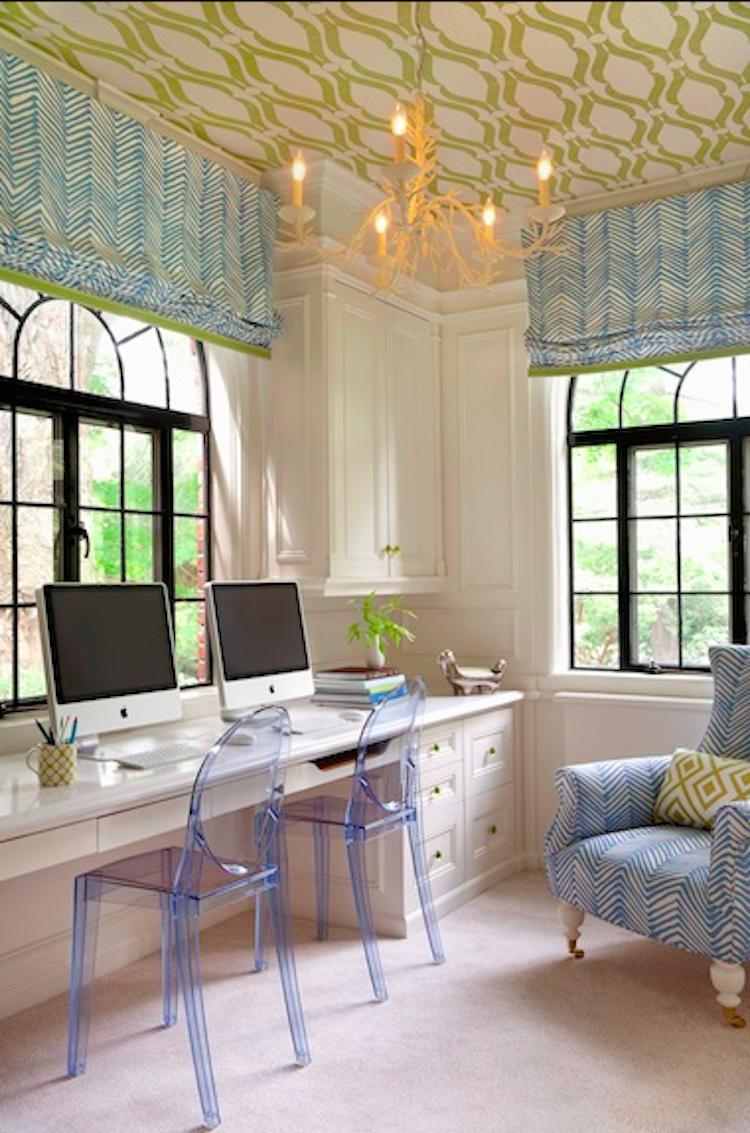 Wallpaper Ceilings - Shining on Design