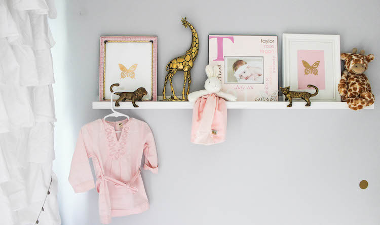 ikea shelf for nursery