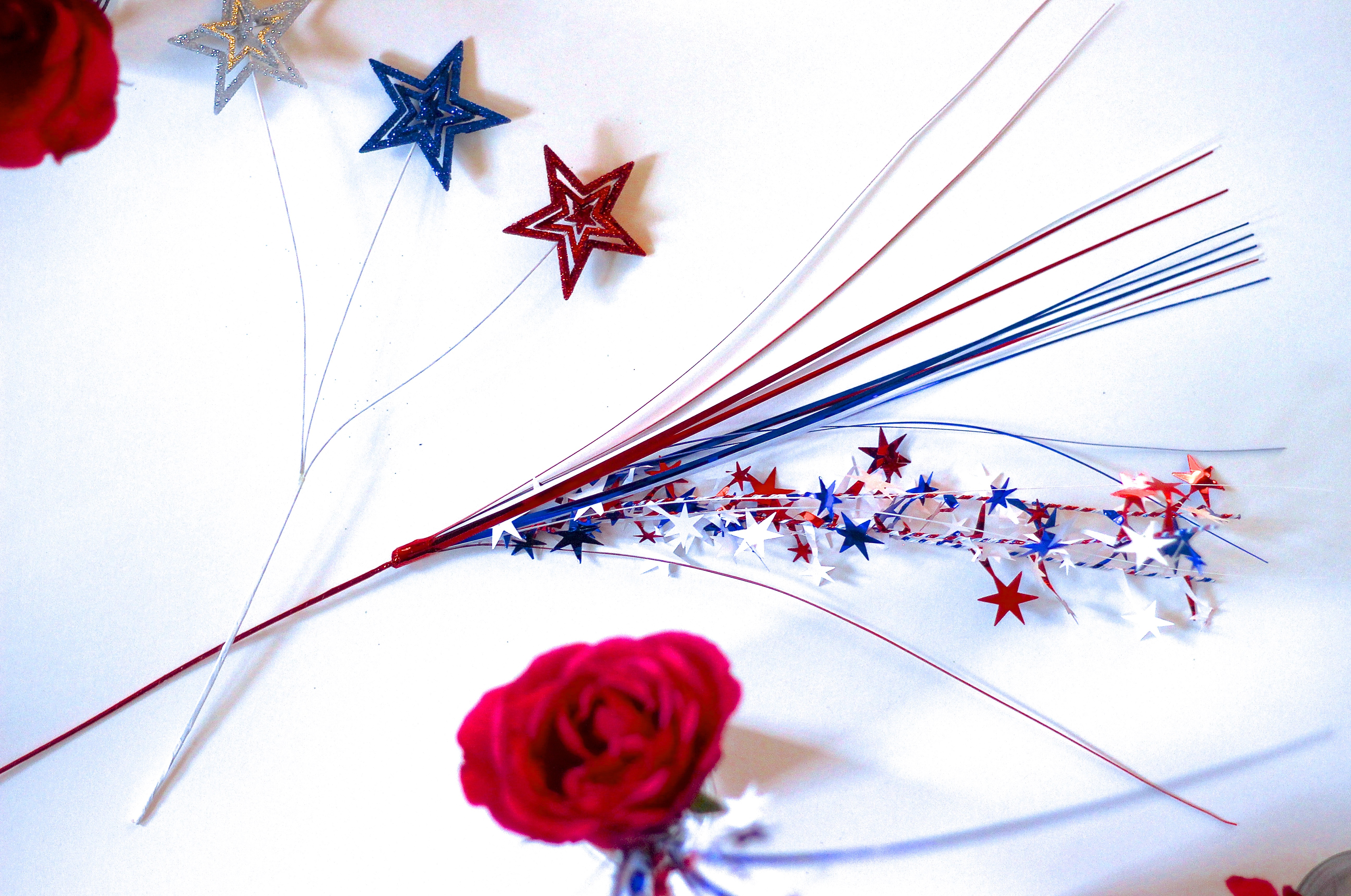 4th of July Easy + Pretty Centerpiece