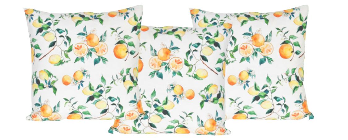 Decorating with Lemons - Shining on Design