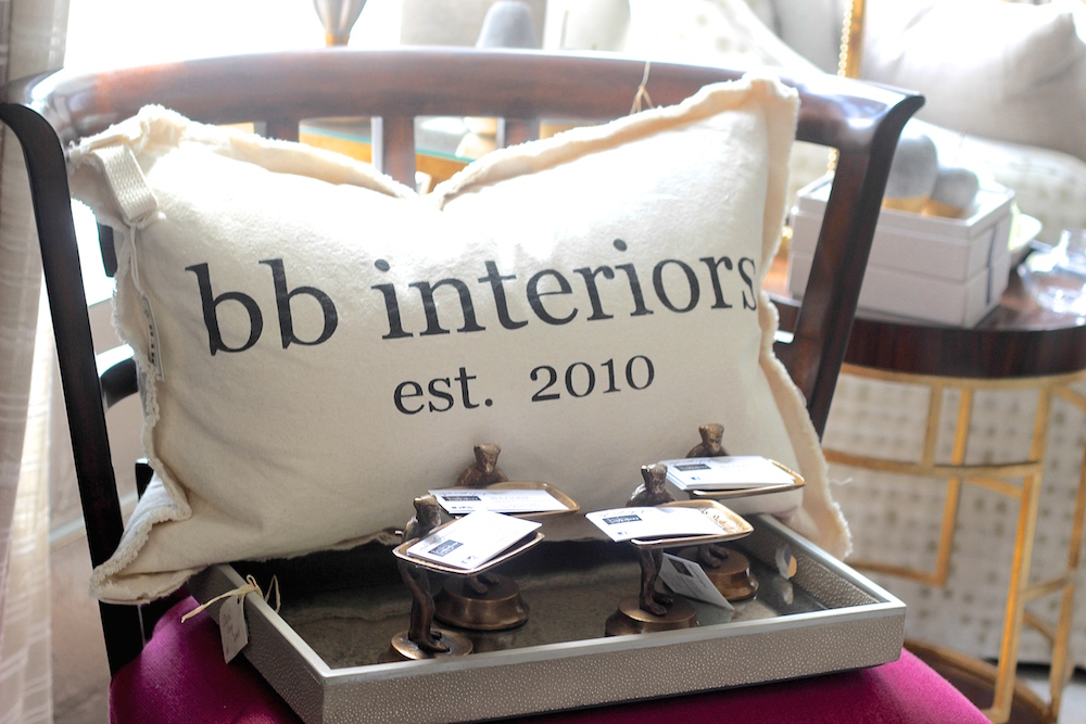 Another great gift idea, these pillows are customizable