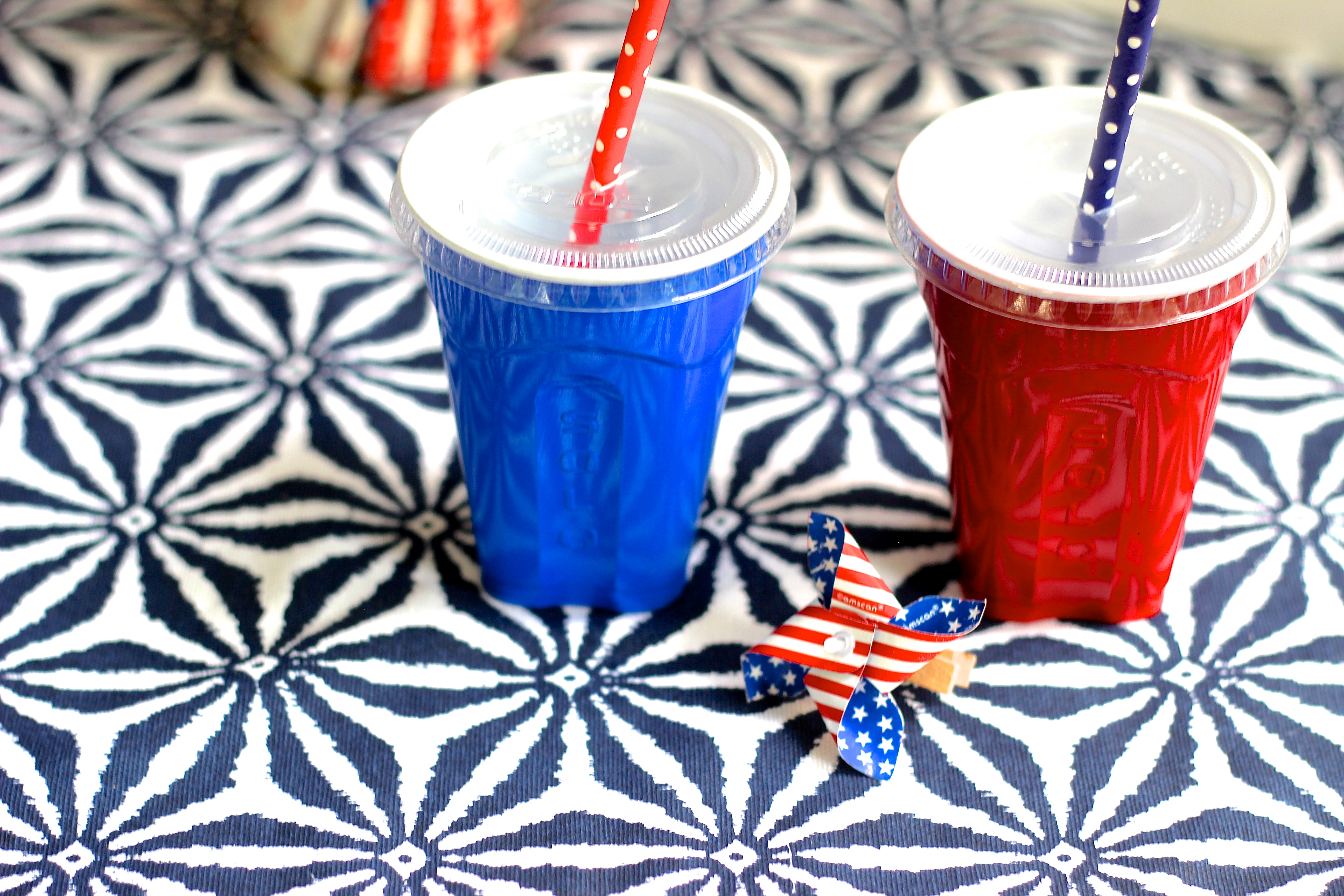 A Red, White & Blue Birthday Party - Shining on Design
