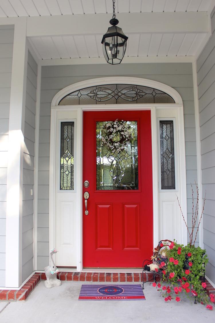 Red Door | Shining on Design