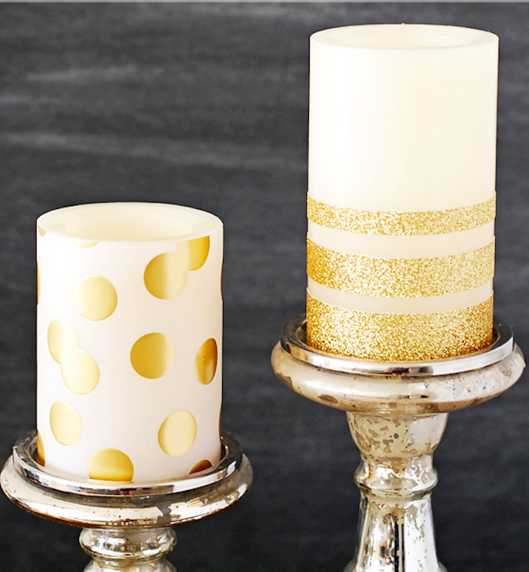 Glam Up Your Candles