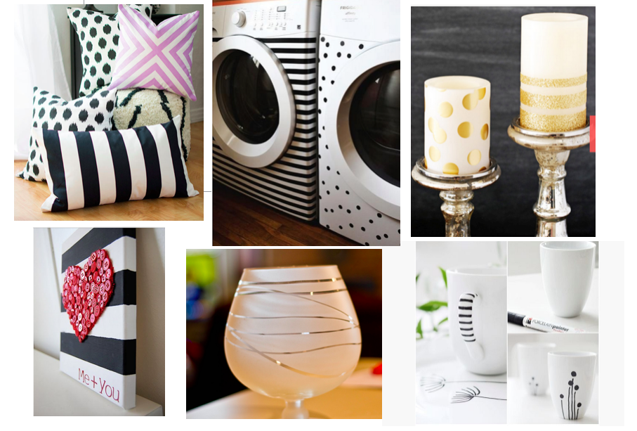 Love stripes? Try these easy DIY projects!