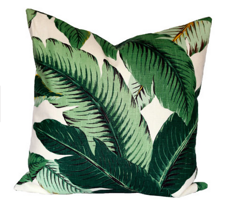 Tropical Leaves are THE print of Summer - Sources and inspiration on Shining on Design