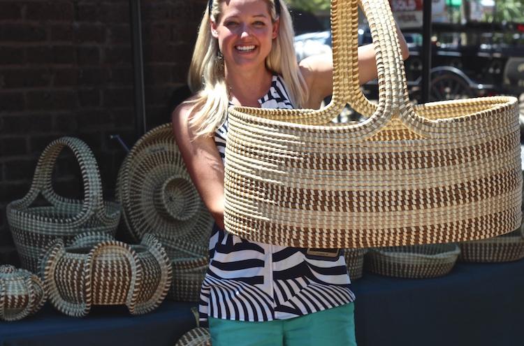 Charleston Sweetgrass Baskets | Shining on Design