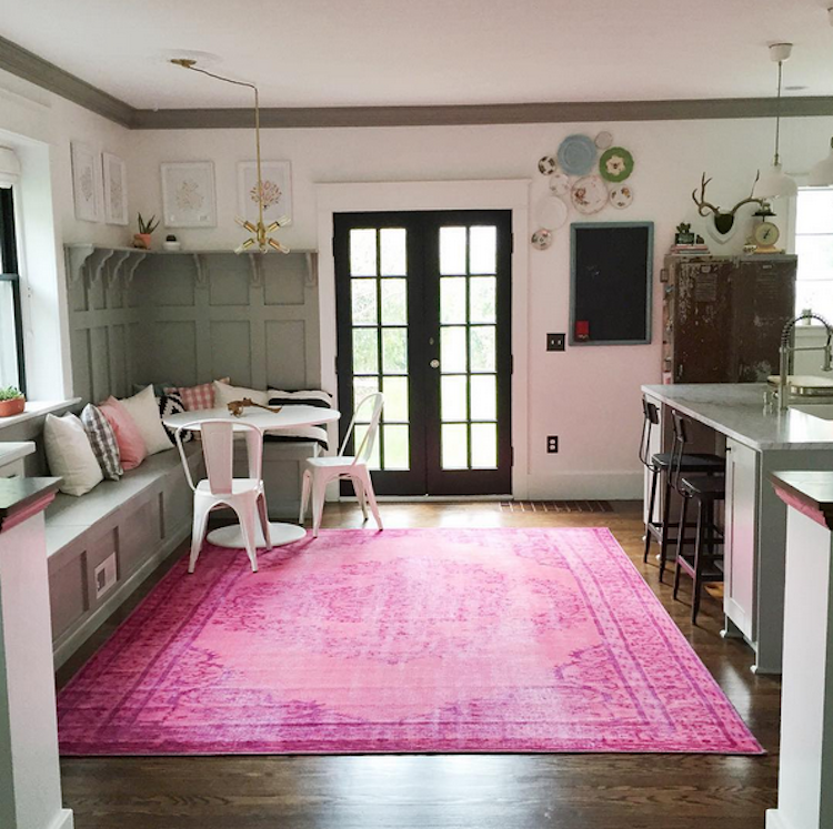 rugs usa - Image credit: @carpendaughter on instagram