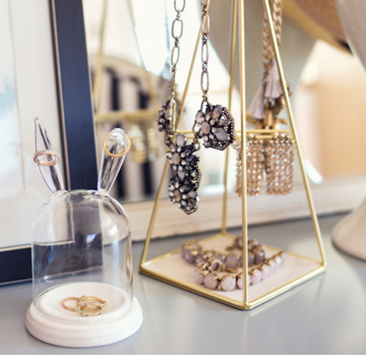 BaubleBar home decor collection with top blogger from Gal Meets Glam