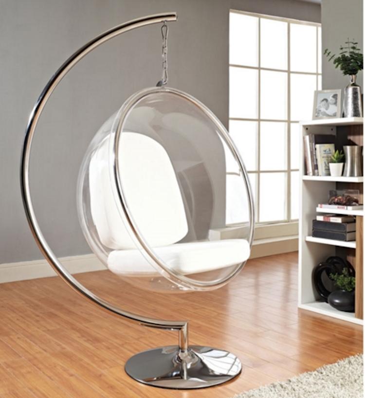 modern egg hanging chair