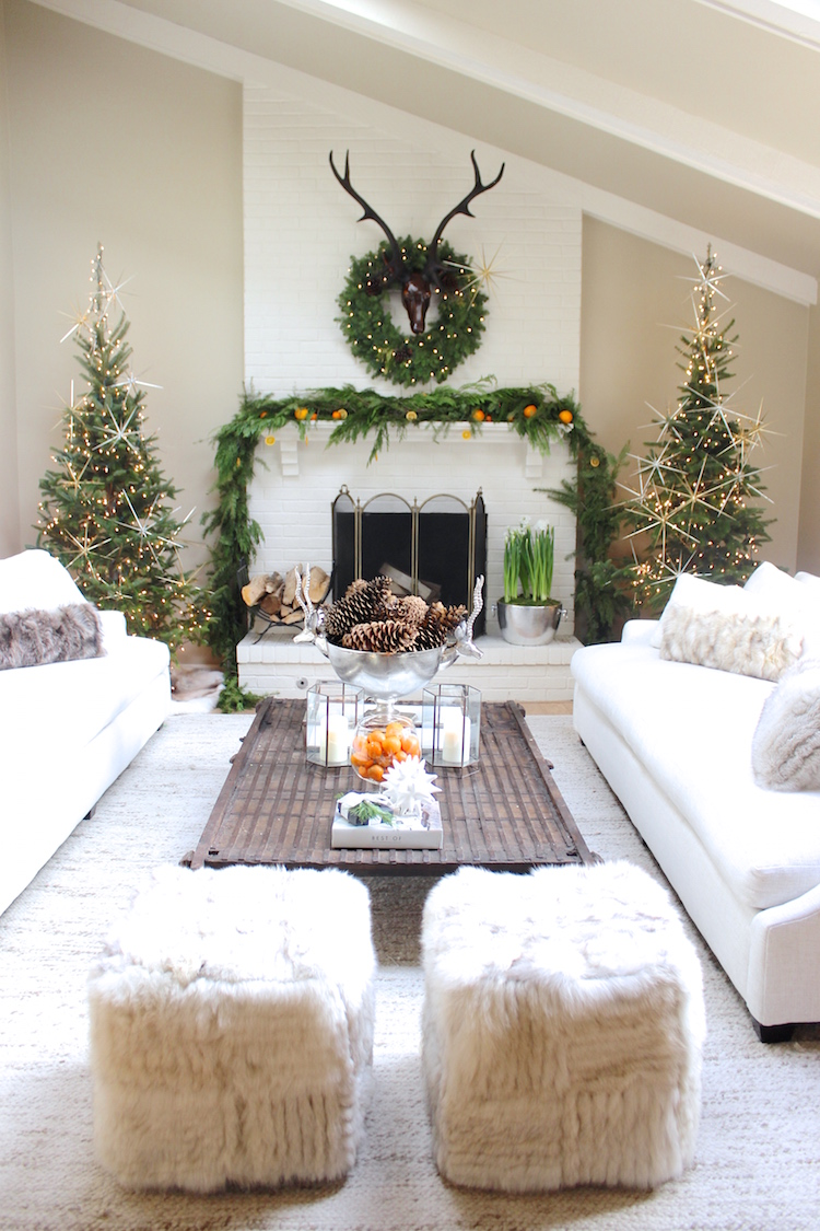 A Fresh Holiday House Tour | Shining on Design