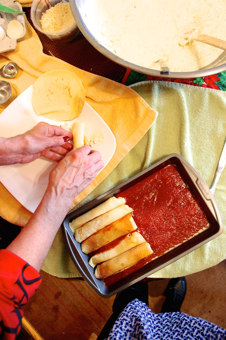 manicotti cooking tradition