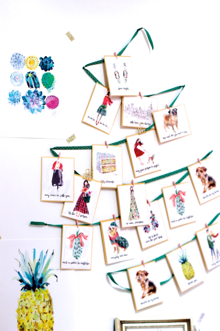 Marnani Design – Colorful and whimsical illustrations by Martha Napier. Fun fact: Martha is formerly a senior designer for Michael Kors.