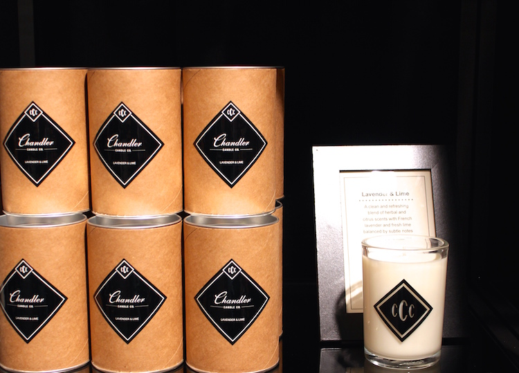 Chandler Candles Co. – Locally made scented candles with all-natural soy wax. They last up to about 40 hours and smell amazing.