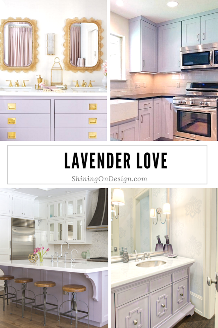 lavender cabinets