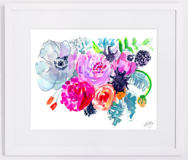 Flowers For Lindsay Fine Art Print 2