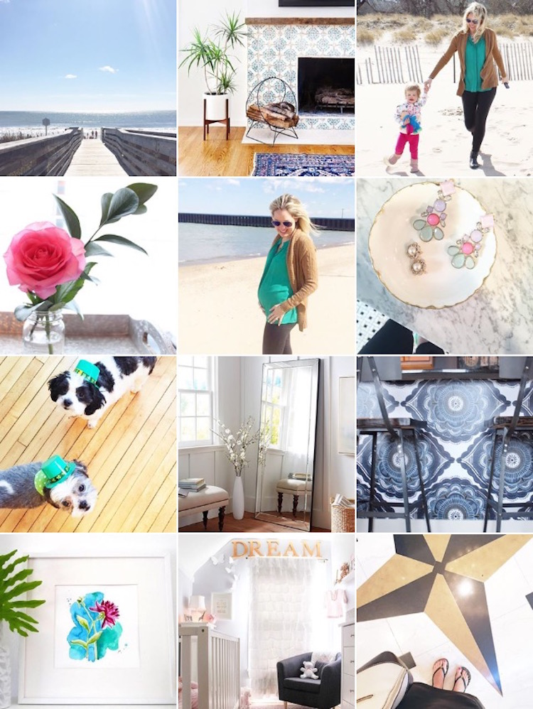 blogger instagram updates