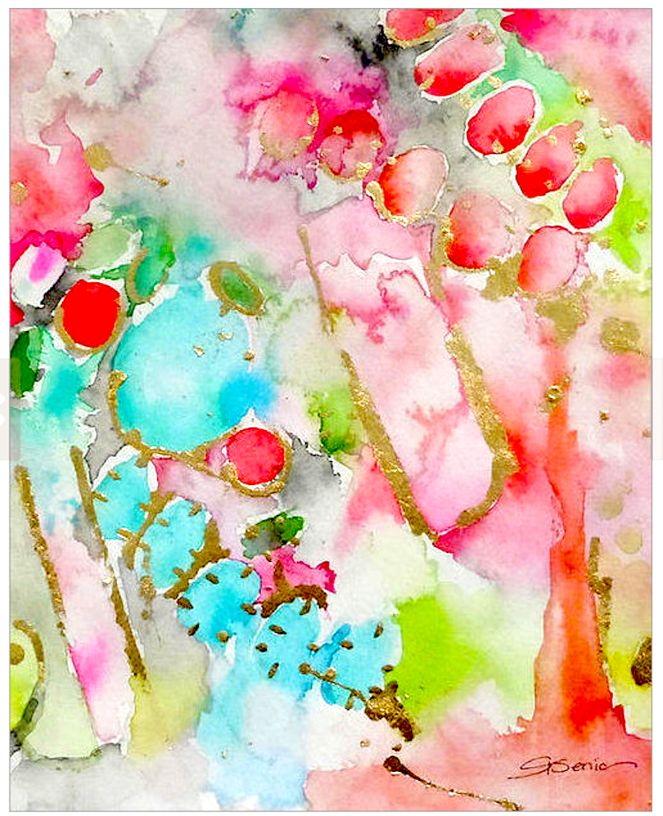 spring color artwork