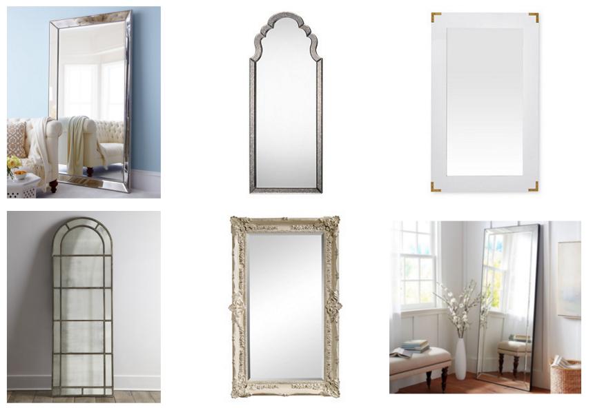 stylish floor mirrors under 600