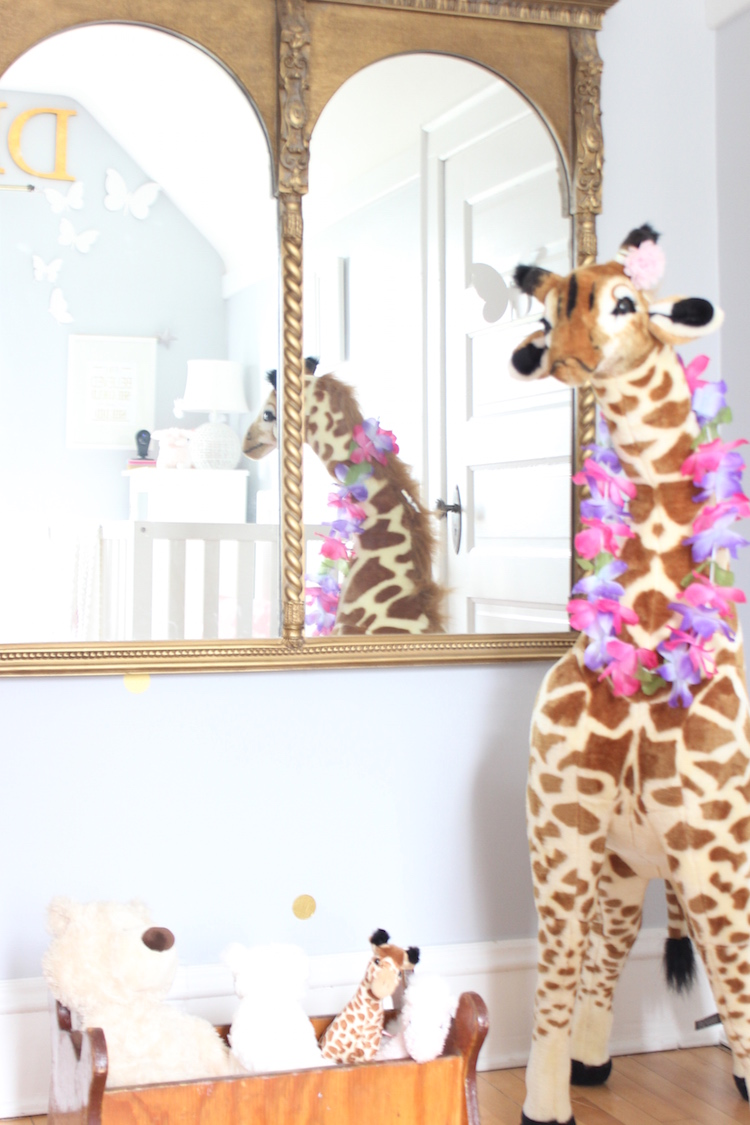 melissa and doug giraffe in nursery