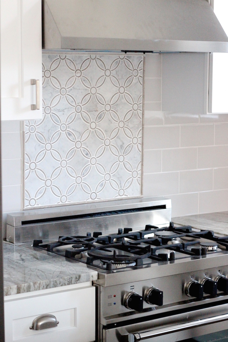 Beautiful kitchen backsplash and accent tile
