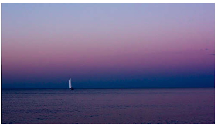 Chris Zec_sailboat in blue