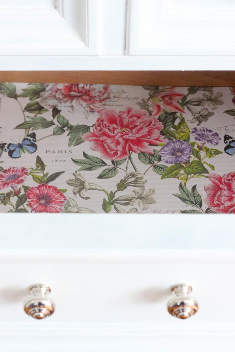 dresser drawer liner diy