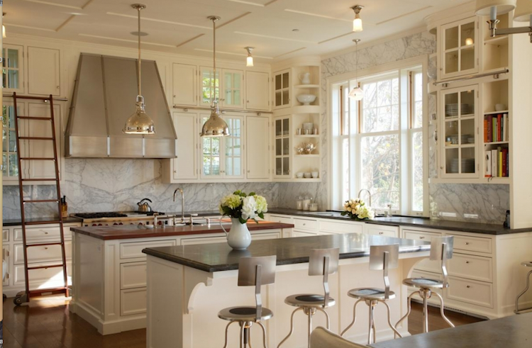 Mixing Gray And Beige In The Kitchen Shining On Design