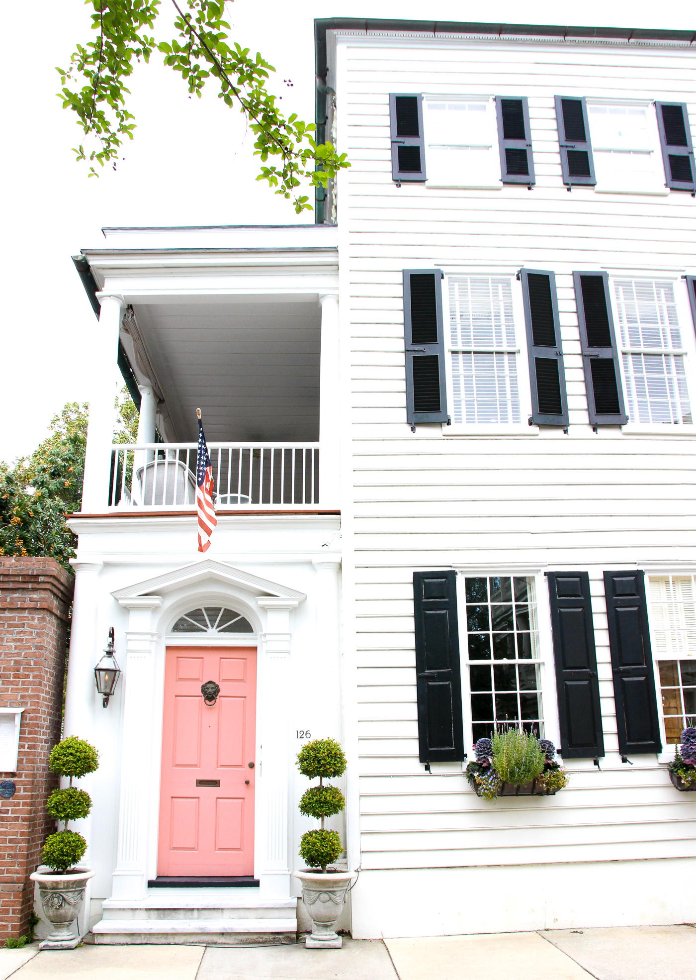 Through Traveling, I Have Fallen In LOVE With Houses That Have Pink Doors.  Especially