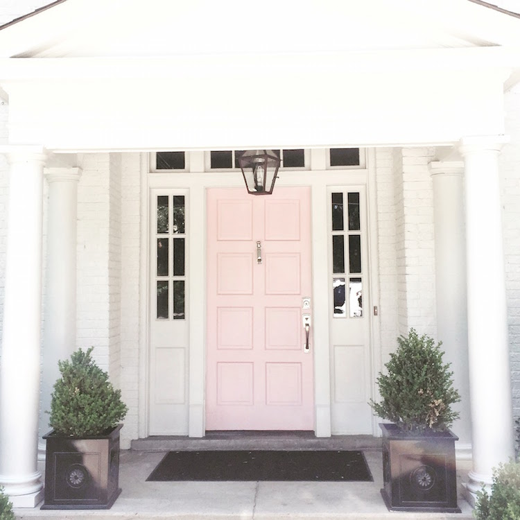 Pink Front Door Colours