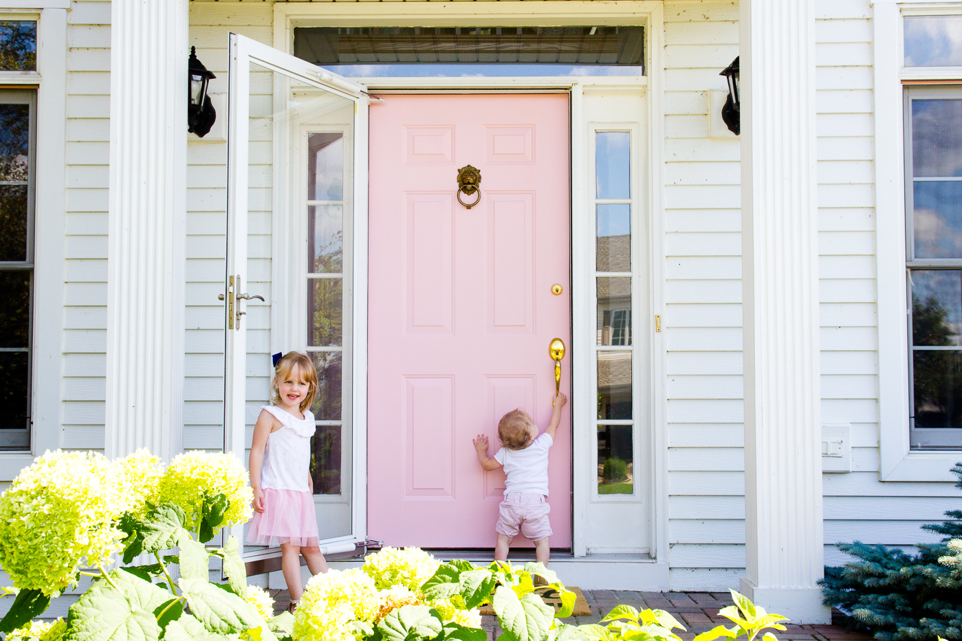 In case you missed it I wrote about why I chose pink here but I wanted to elaborate a little too on why I chose Farrow u0026 Ball paint. & Painting our Front Door with Farrow u0026 Ball | Shining on Design