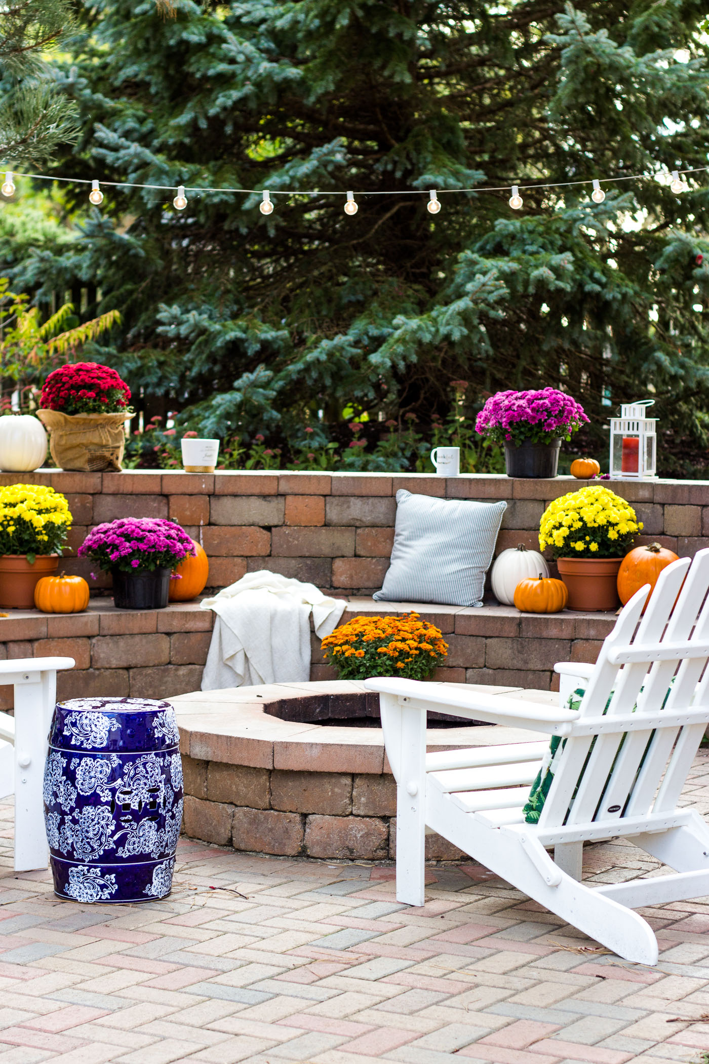 Our Fall Backyard | Shining on Design on Fall Backyard Decorating Ideas id=66900