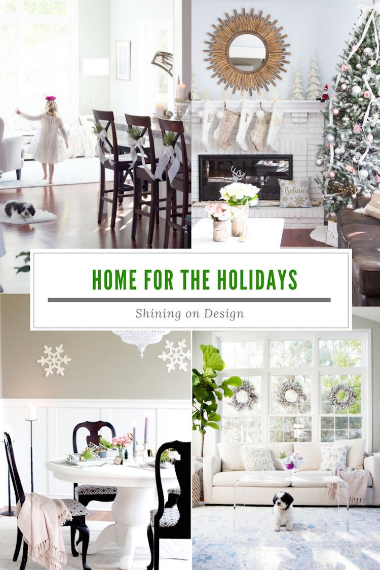 Our Holiday Home | Shining on Design