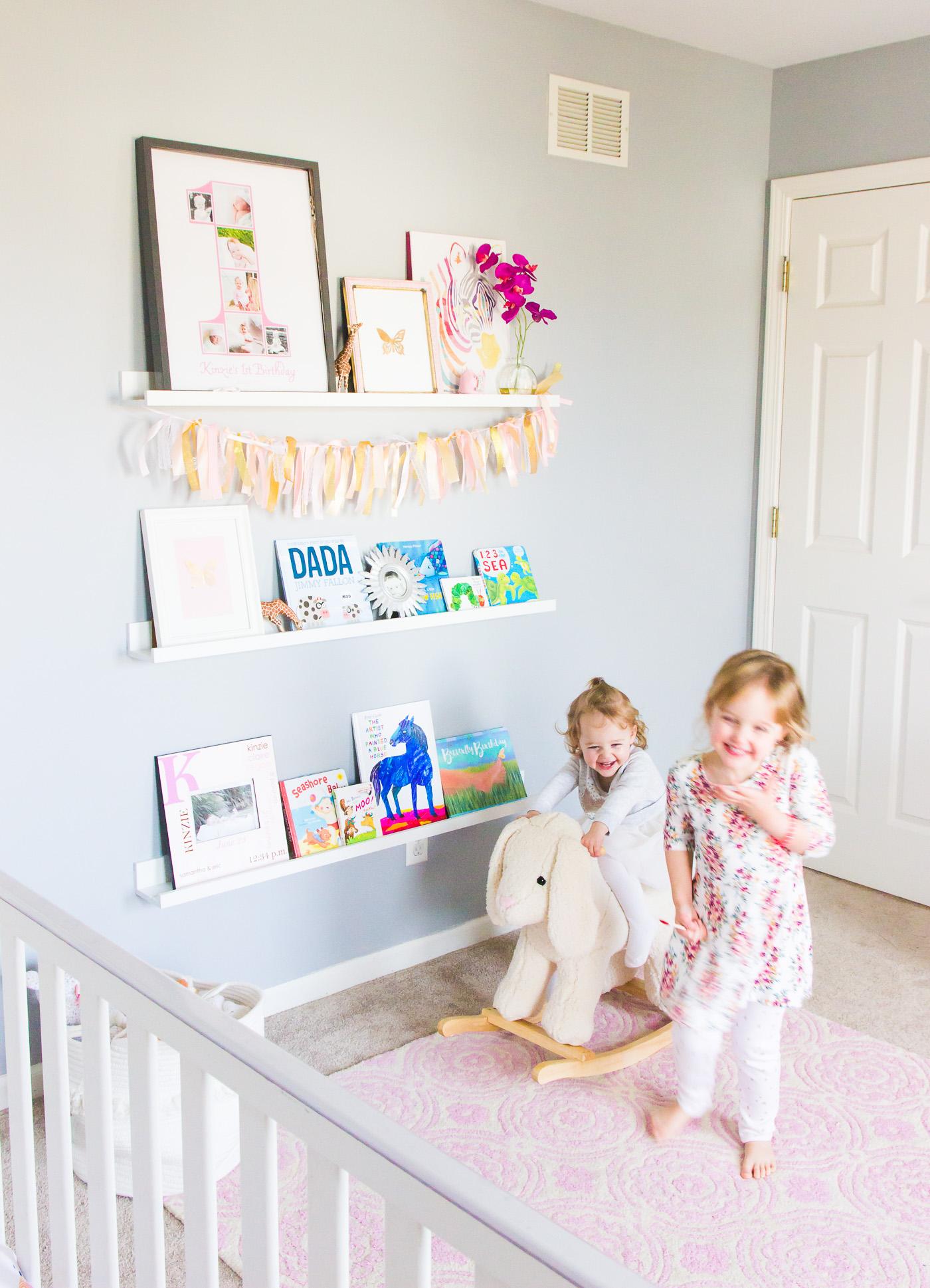 Nursery Shelf Ideas Shining On Design