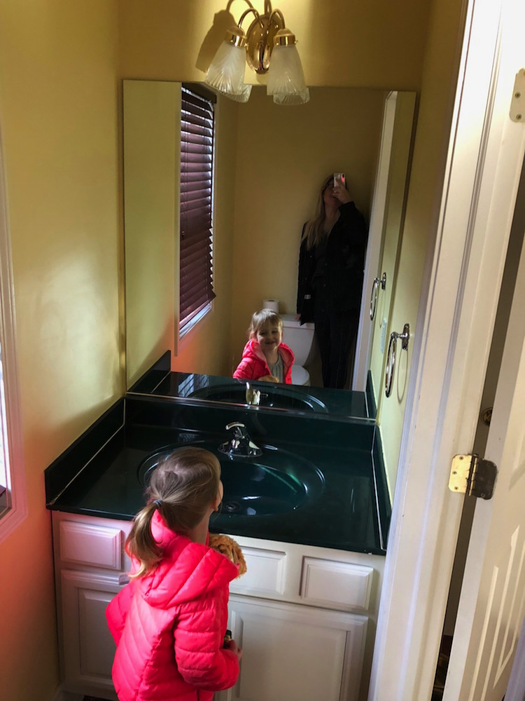 Lessons Learned From Our Powder Room Makeover Shining On