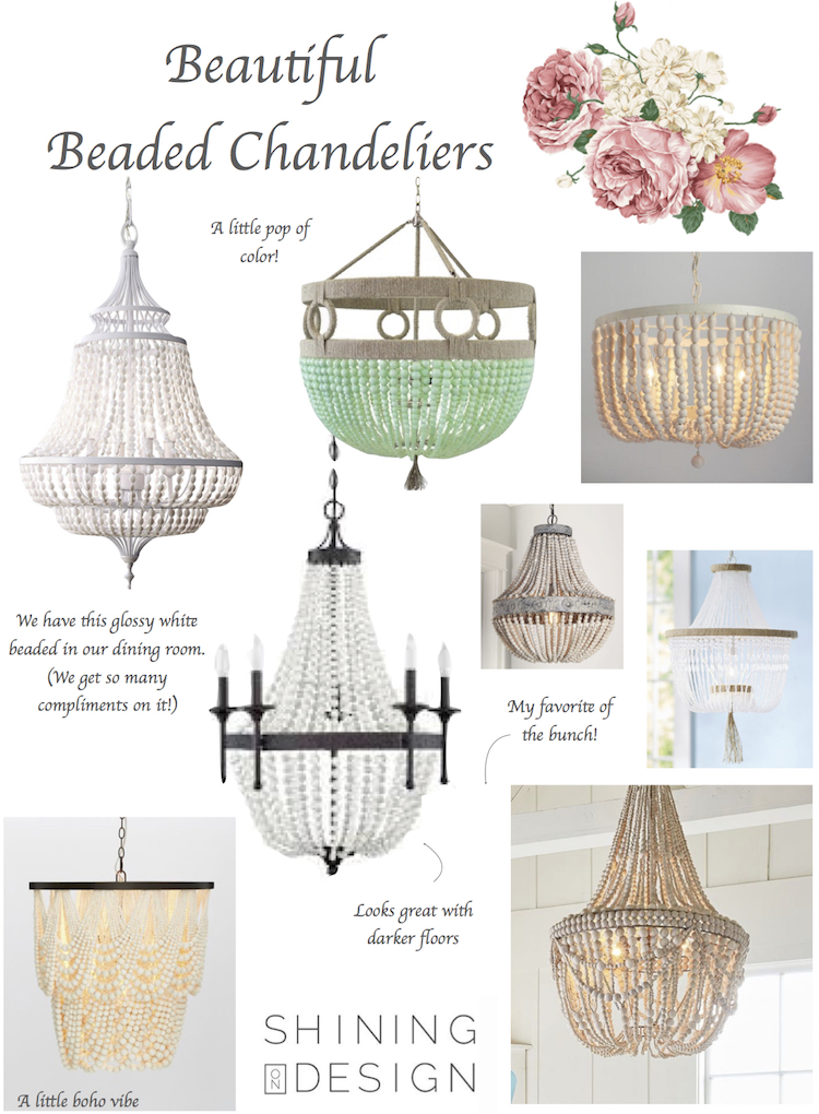 8 beaded chandeliers for any style shining on design note this post contains affiliate links this means i get a small percentage for any item purchased it does not affect your pricing aloadofball Gallery
