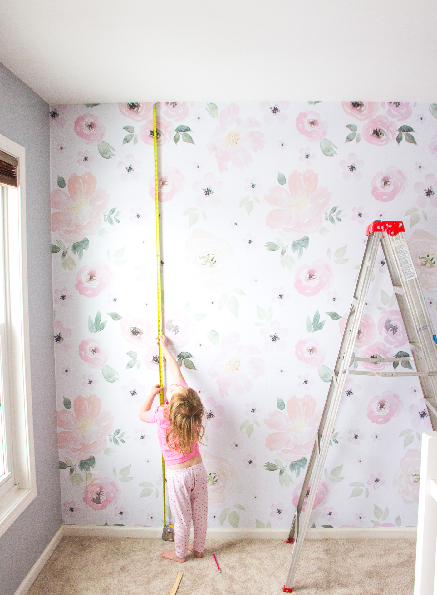 We Had Planned To Paint The Nursery In Case You Remember This Post But After Installing Wallpaper Are Keeping Color As Is