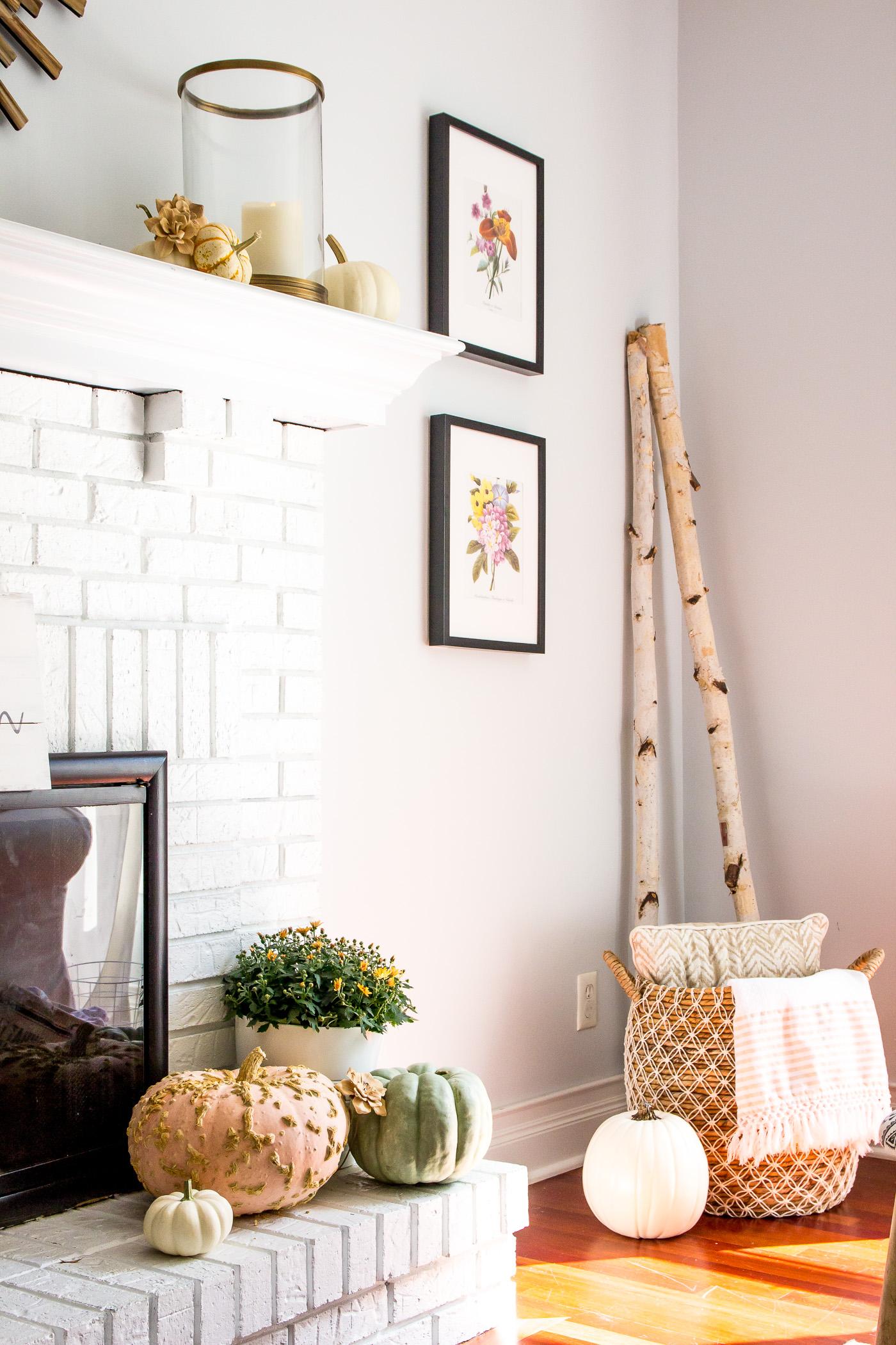 Tis Autumn Living Room Fall Decor Ideas: Fall Living Room Decor Shiningondesign (17 Of 41