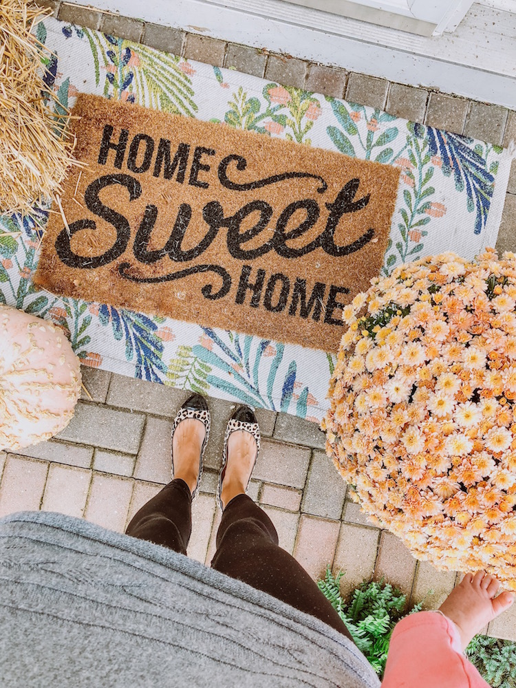 Quot Fall Quot Ifying Our Porch Shining On Design