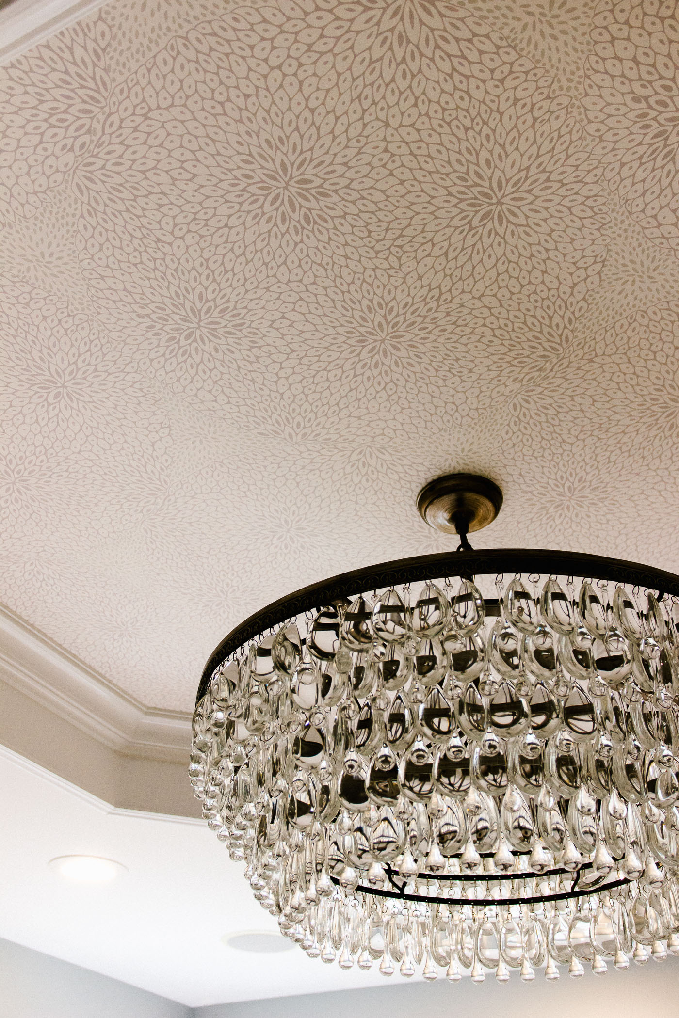 Wallpaper Tray Ceiling 1 Of 1 Shining On Design