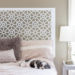 Our $20 Moroccan Style Headboard